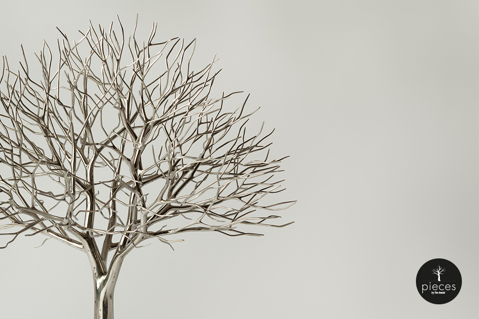 Tim Bardel - Pieces 2014 - handgefertigte Edelstahlbäume - #2
